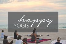 Happy Yogis | Yoga Inspiration / Tips and inspiration for every kind of yogi! Yoga for beginners, yoga poses, yoga inspiration. http://www.happygrace.com/