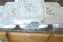 Freezer meals / by Marsha Barteski-Hoberg