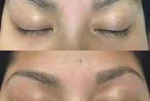 Brows / Before and After of Microblading and Brow Shaping