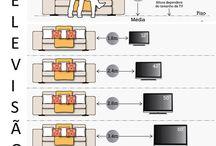 Расстановка мебели. Эргономика