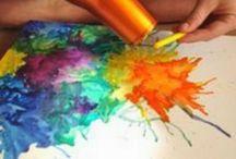 Crayones Fundidos
