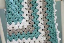 mantas bebe crochet