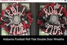 Sports / Football Wreaths, Football Decorations