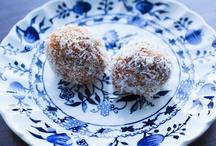 Raw Treats / Yummy raw food desserts #paleo #rawfood #vegan #glutenfree / by Small Footprint Family
