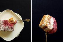 s ł o d k i e / O zdjęciach słodkości, o poziomkach i miłości do pieczenia.