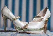 Claudia Sanchez Zapatos con Diseño / Novias