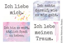 Sprüche Be yourself & love yourself