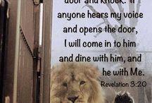 Rev. 3:20....