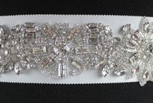 Bridal Belts and Sashes / A stunning collection of bridal sashes to compliment any bridal gown.