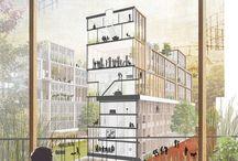 vertical buildings