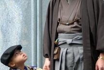 袴や肩衣や羽織など (Kimono Menswear) / by Ragtime Doll