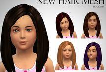 Coiffure Enfant (Sims 4)