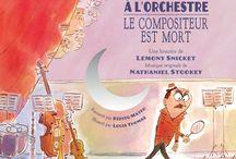L'orchestre des illustrateurs / L'orchestre vu par des illustrateurs, dessinateurs...