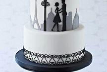 Cake - Black White