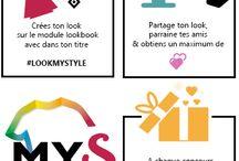 LOOKBOOK - JEU CONCOURS / Inspiration de look, créez votre look et gagnez de jolis cadeaux !