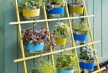 Garden - Flower stand