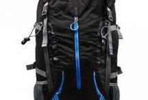 Classa DG056 Hiking Tas Ransel - Hitam-Biru