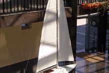 hajómodell / Történelmi vitorlás fa hajómodell készítésével foglalkozom