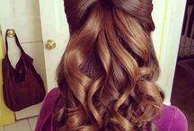 peinados para casamientos o eventos  / cuando tenes algun evento ,fiesta ,o casamiento y no tenes idea de lo que hacer con tu pelo aca tenes algunas ideas