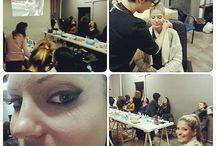 Curso de Visajismo / Encantadas de nuestro curso de Visajismo. Gracias a todas las alumnas y modelos!!!