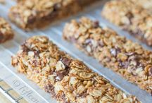 Bars / Homemade bars recipes #bar, #snack / by Gosia | Kiddie Foodies