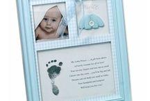 Empreinte bebe / Nécessaire et astuces pour faire une empreinte de bébé