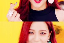 Jisoo ♡ / Kim Jisu is a singer and dancer in the kpop girlband BLACKPINK. She's from South Korea.