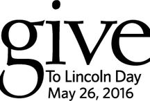 Give To Lincoln Day / Give To Lincoln Day is your chance to make a real impact on Lincoln's quality of life. Together, we have the power to support Lincoln's nonprofit organizations and improve lives. Every donation you make on May 26th helps your favorite charities.