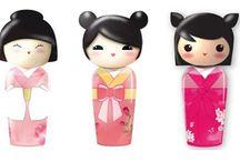 Gamme Kokeshi parfums