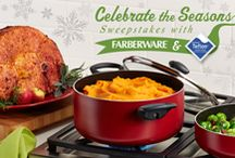 Celebrate the Seasons: Christmas / From holiday classics to new and crowd-pleasing Christmastime favorites, find your easy entertaining holiday inspiration with Farberware® Cookware and Teflon®. / by Farberware Cookware
