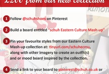 Schuh Eastern Culture Mash-up