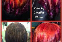 Epic Hair by Jennifer Drake / Hair done by Jennifer Drake @ Rockabetty's in Yuba City!