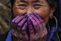 Photos - Aging Elderly / #Elderly #old #grandparent #grandmother #grandfather #skin lines #wrinkles #aging #ageless #time #character #life / by V EIRRAB
