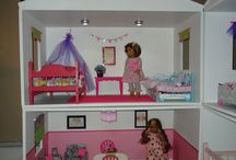 Doll and Bear houses / Create living spaces for bears and dolls / by Christine Perry-burke