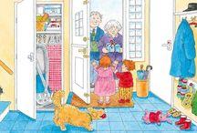 Thema Opa en oma / Ideeën om uit te werken in groep 1/2/3. Tevens thema van de Kinderboekenweek van 2016
