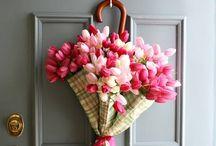 Flower Power / Herrliche Blumendeko jahreszeitenunabhängig