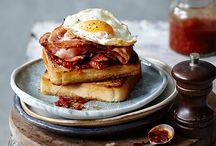Bacon egg sandwich