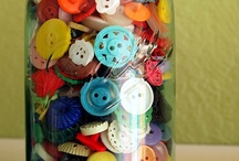 Buttons / I absolutely love buttons!  / by Katie Stines