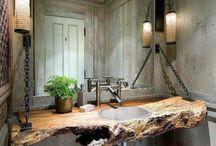 House Ideas / Dungeon bathroom