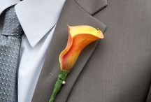 Real Wedding Buttonholes/Boutonniere