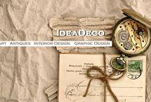 IDEADECO / IDEADECO Make Ideas Happen @ Art, Antiques, Graphic Design, Interior Design, Social Media, Web Design, Photography.