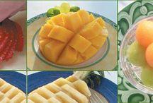 Cortes de Frutas