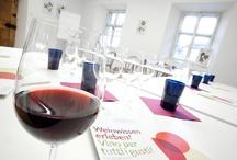 Wein-Akademie / Schnappschüsse und Fotos rund um die Kurse und tägliche Arbeit der Südtiroler Weinakademie