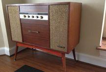 Retro Audio Cabinet