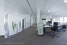 Bruynzeel office projects / Some of our reference projects showing space-saving office solutions (Bruynzeel Filing and Storage).
