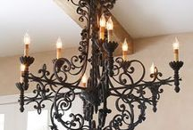 chandeliers and other lighting / by Stacey Fox Kingston