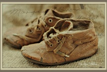For the Love of  Tiny Vintage Shoes! / by Lorelie Michaud