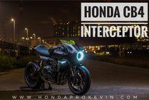 2019 Honda CB4 Interceptor Concept Motorcycle | Sport Bike / Cafe Racer StreetFighter / New 2019 Honda Motorcycle News & Model Lineup Reviews @ www.HondaProKevin.com