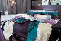 bed room purple