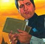 MANOJ KUMAR'S PORTRAITS OF MOVIES IN POSTER N WATER COLOURS